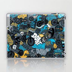 Bikes pattern Laptop & iPad Skin