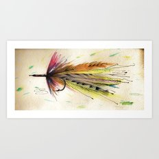 To Teach A Man To Fish Art Print