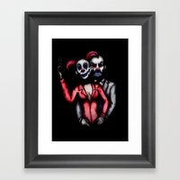 Mad Love; The Robbery Framed Art Print