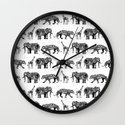 graphic zoo Wall Clock