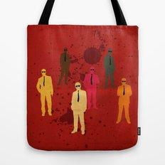 Six Angry Dogs Tote Bag