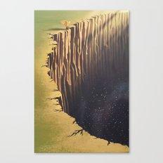 A Glimpse into Darkness Canvas Print