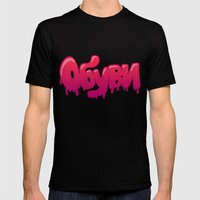 обуви Mens Fitted Tee Black SMALL