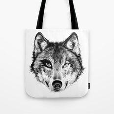 The Wolf Next Door Tote Bag