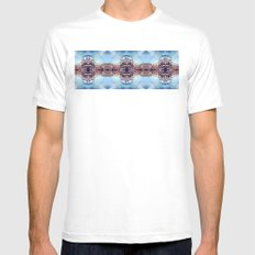 The Art Alley Mens Fitted Tee White SMALL
