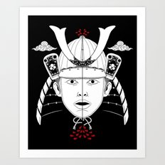 Perfect Samurai Slice Art Print