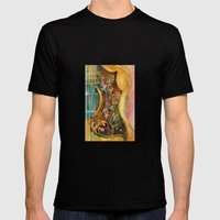 Gibson Hummingbird Acoustic Guitar Mens Fitted Tee Black SMALL