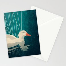 Duck Reflected Stationery Cards