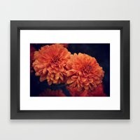 If A Flower Was The Sun Framed Art Print