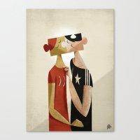 The puzzle Canvas Print