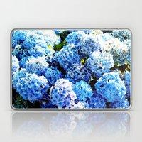 Blue flowers all summer  Laptop & iPad Skin