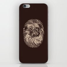 Fingerpug iPhone & iPod Skin