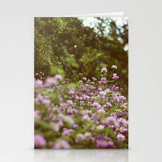 Among the Wildflowers Stationery Card