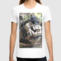 animal skull T-shirts featuring Animal Skull by CJ Thornburg
