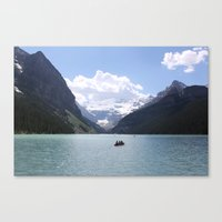 Lake Louise, Canada (2012) Canvas Print