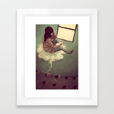 While I Dream Framed Art Print