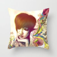 Inspiration Evaporation Throw Pillow