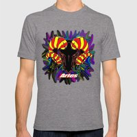 Aries Mens Fitted Tee Tri-Grey SMALL