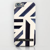 Watercolor Stripe Midnight iPhone 6 Slim Case