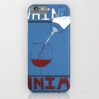 Whine To Wine iPhone 6 Slim Case