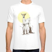 Doe Tree Mens Fitted Tee White SMALL