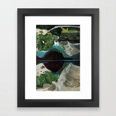 Blow Hole Framed Art Print