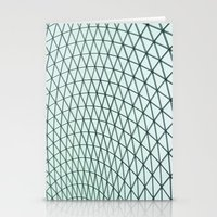 british museum roof texture Stationery Cards