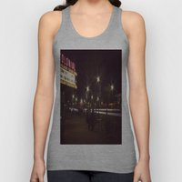 Small Town, Fast Lights Unisex Tank Top