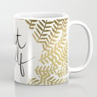 Treat Yo Self – Gold Mug