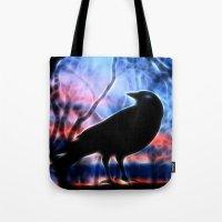 Good Morning Raven Magic Tote Bag