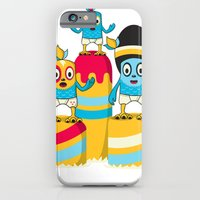 iPhone & iPod Case featuring We are family by Teodoru Badiu
