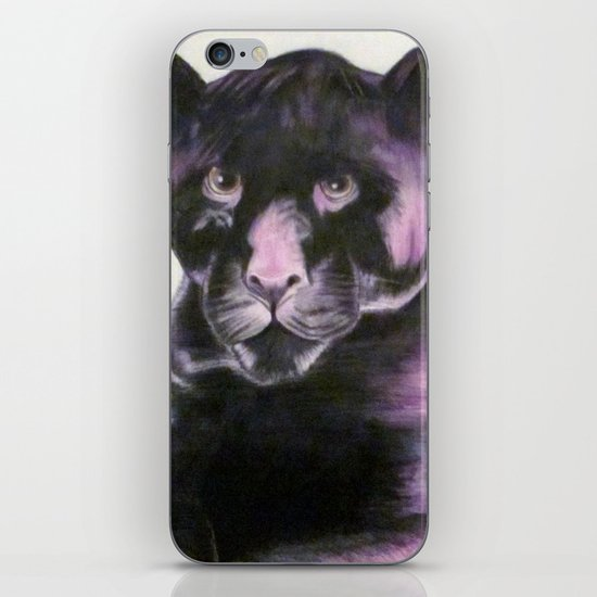 Black Panther iPhone & iPod Skin