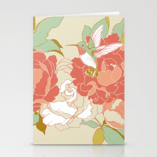 garden party Stationery Card