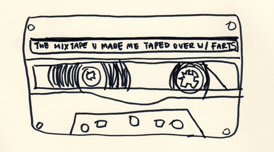 cassette schmassette Canvas Print