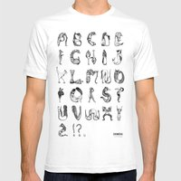 Chimera Mens Fitted Tee White SMALL