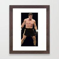 Rocky Balboa Framed Art Print