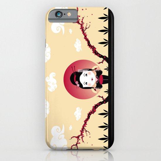 Geisha2 iPhone & iPod Case