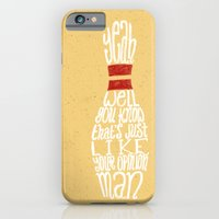 iPhone & iPod Case featuring The Big Lebowski by Drew Wallace