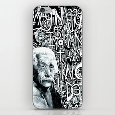 Einstein.  iPhone & iPod Skin