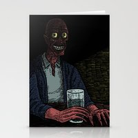 A Stranger In The Corner Stationery Cards