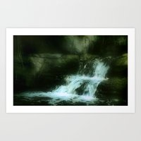Water Fall Art Print