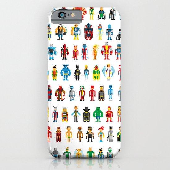 Pixel Heroes iPhone & iPod Case
