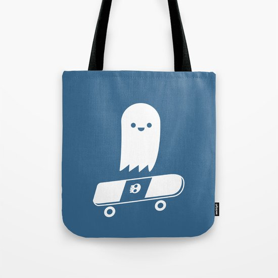 Skate Ghost Tote Bag
