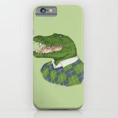 Argyle Crocodile Slim Case iPhone 6s