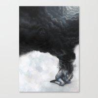 Das Bettelweib von Locarno Canvas Print