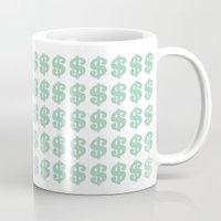 Mint Money Repeat Mug