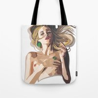 Her Dark Side Tote Bag