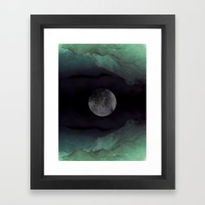 Mountain Nightmare Framed Art Print