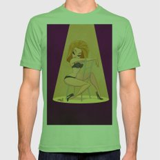 dr.sketchy girl Mens Fitted Tee Grass SMALL