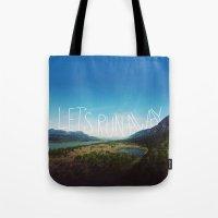 Let's Run Away: Columbia… Tote Bag
